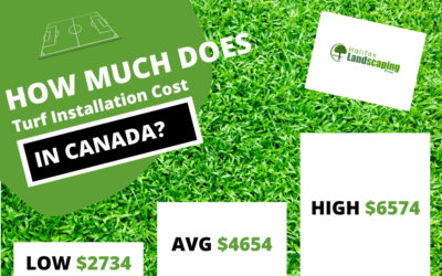 Turf Installation Costs in Canada