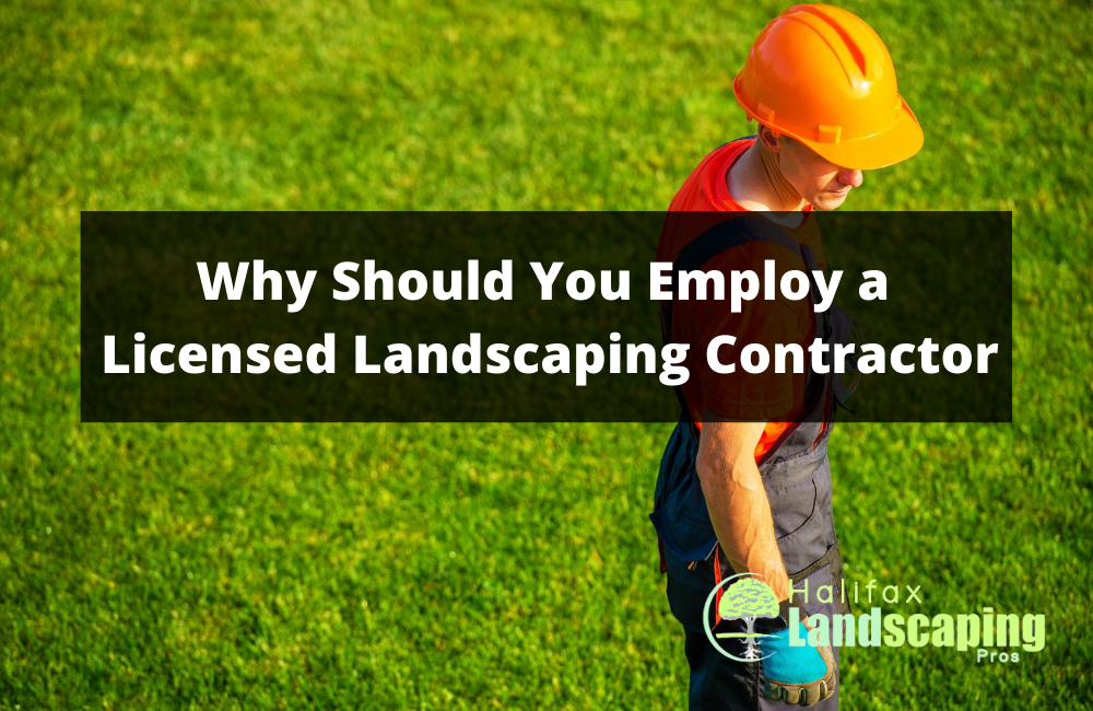 Why Should You Employ a Licensed Landscaping Contractor